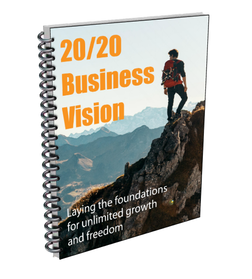 2020 business vision cover