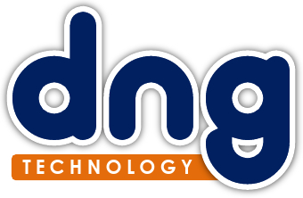 dng logo blue orange